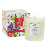 fuchsia Paul Costelloe Living Bloom Floral Candle