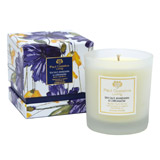blue Paul Costelloe Living Santorini Floral Candle