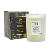 black Paul Costelloe Living Frosted Candle