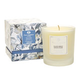 grey Paul Costelloe Living Isabella Floral Candle