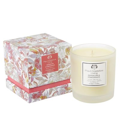 Paul Costelloe Living Giverney Floral Scented Candle