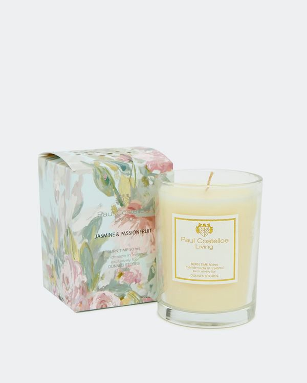Paul Costelloe Living Floral Candle