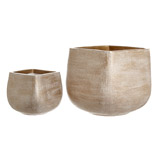 natural Paul Costelloe Living Sienna Planter