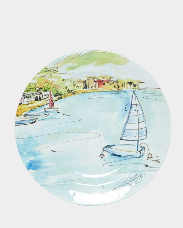 Paul Costelloe Living Boats Side Plate