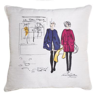 Paul Costelloe Living Silk Lady Cushion thumbnail