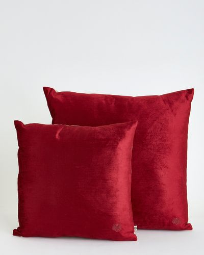 Paul Costelloe Living Decadence Red Cushion