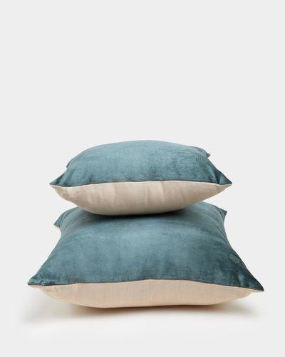 Paul Costelloe Living Dark Green Decadence Cushion