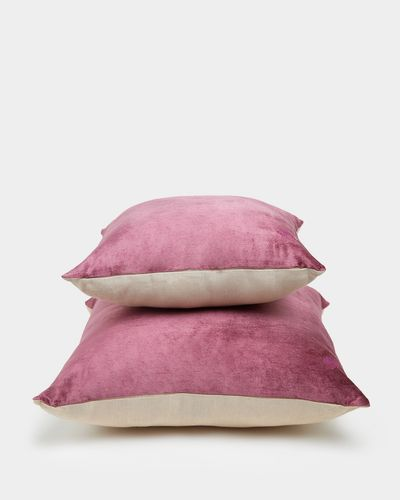 Paul Costelloe Living Plum Decadence Cushion
