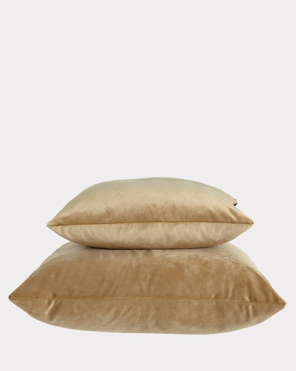Paul Costelloe Living Gold Velour Cushion