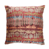 red Paul Costelloe Living Shadowy Jacquard Cushion