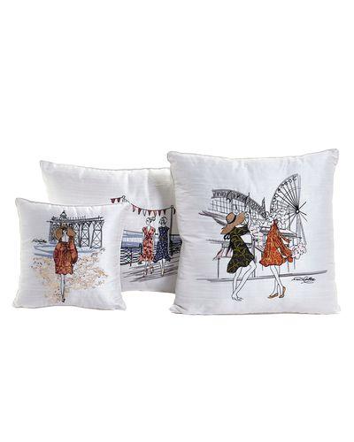 Paul Costelloe Living Scene Lady Cushions