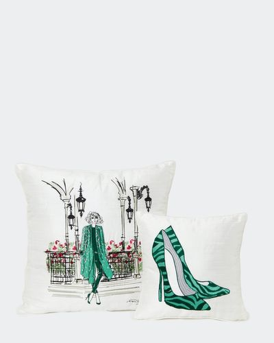 Paul Costelloe Living Silk Cushion