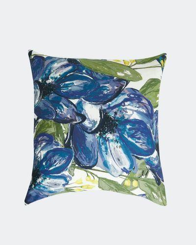 Paul Costelloe Living Santorini Print Cushion