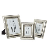 silver Paul Costelloe Living Hammered Frame