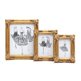 gold Paul Costelloe Living Decadent Frame