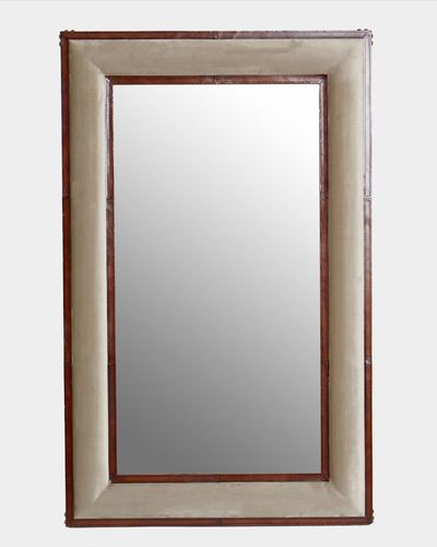Paul Costelloe Living Leather Mirror