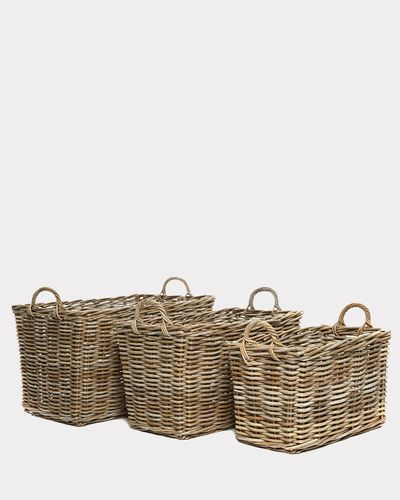 Paul Costelloe Living Laura Rectangular Basket
