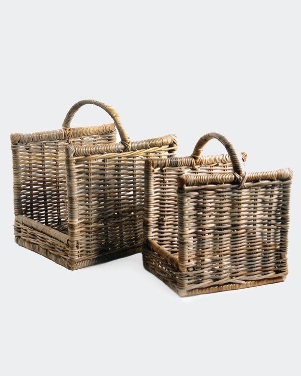 Paul Costelloe Living Laura Log Baskets