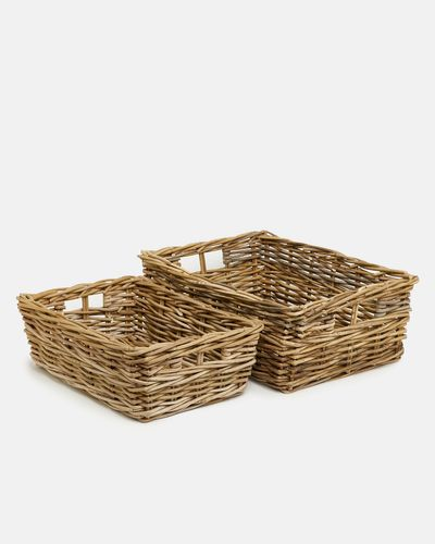 Paul Costelloe Living Laura Rectangle Basket thumbnail