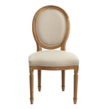 natural Paul Costelloe Living Louis Dining Chair