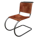 brown Paul Costelloe Living Amadeus Italian Leather Chair