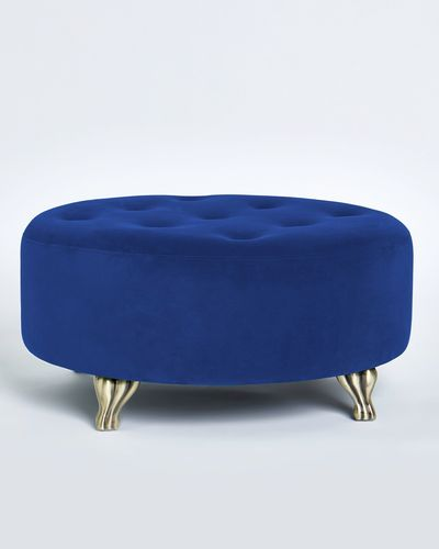 Paul Costelloe Living Velvet Stool