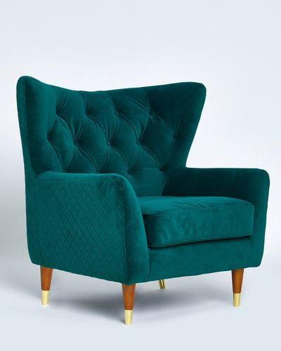 Paul Costelloe Living Velvet Chair