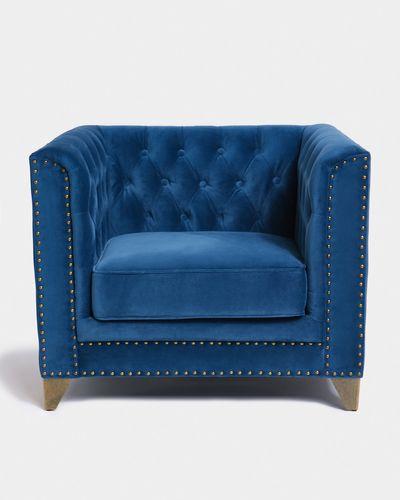 Paul Costelloe Living Velvet Armchair