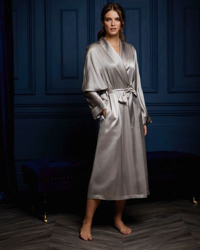 Paul Costelloe Living Pure Silk Robe