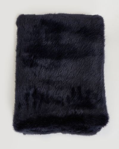 Paul Costelloe Living Faux Fur Throw