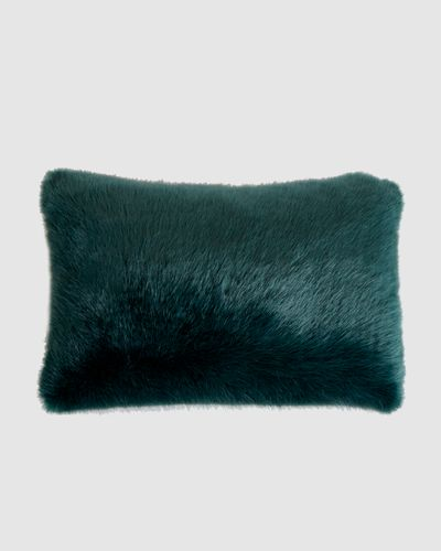 Paul Costelloe Living Faux Fur Cushion