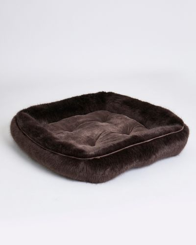 Paul Costelloe Living Faux Fur Dog Bed