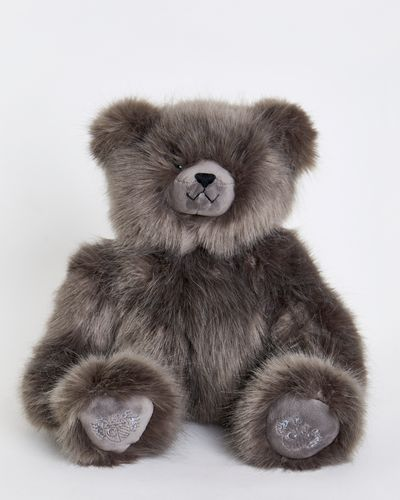 Paul Costelloe Living Faux Fur Teddy Bear