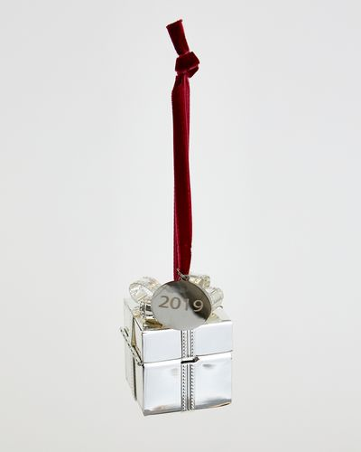 Paul Costelloe Living Open Present Silver Decoration