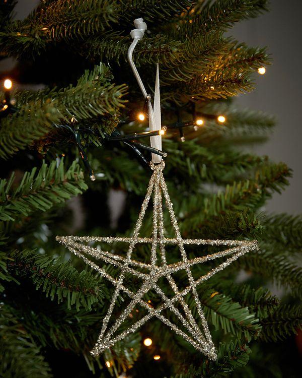 Paul Costelloe Living Glitter Star Decoration
