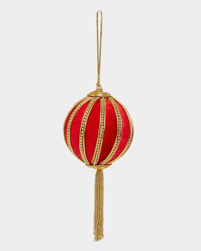 Paul Costelloe Living Red Tassel Decoration