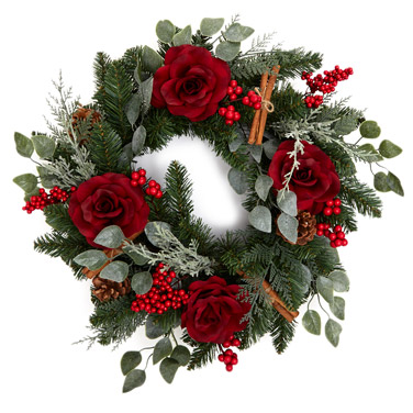 red Paul Costelloe Living  Luxury Wreath