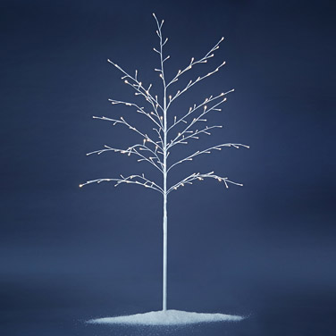 white Paul Costelloe Living Pre-Lit Tree - 1.8m