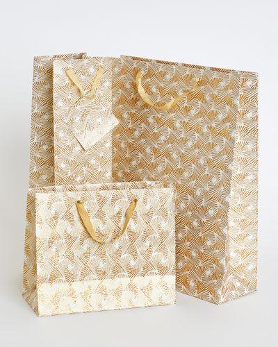 Paul Costelloe Living Gold Gift Bag