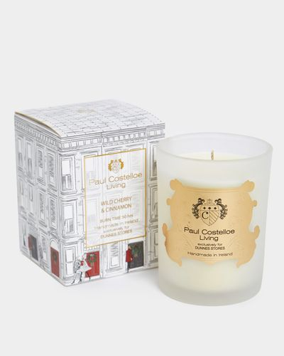 Paul Costelloe Living Christmas Lady Candle