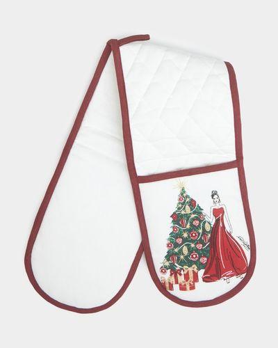 Paul Costelloe Living Christmas Lady Oven Glove thumbnail