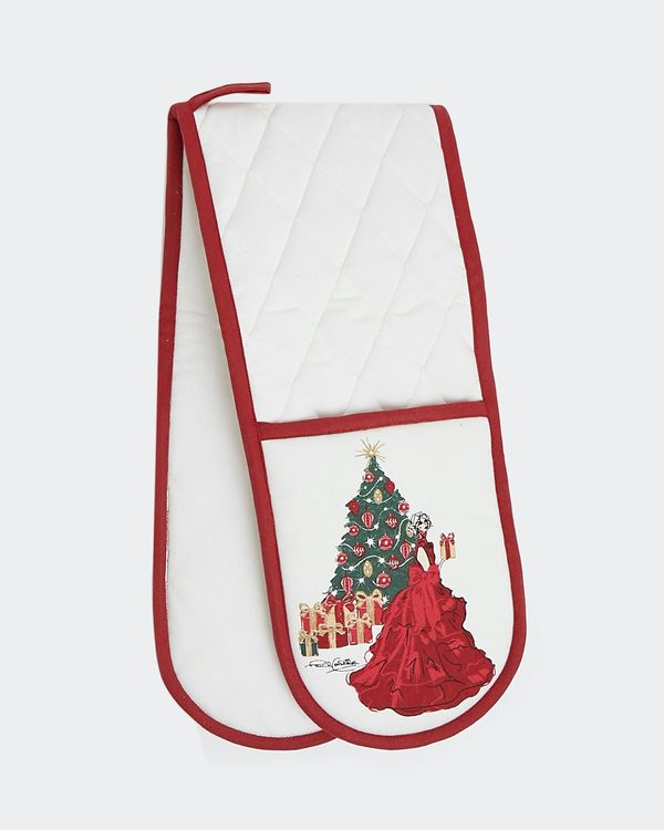 Paul Costelloe Living Christmas Lady Oven Glove