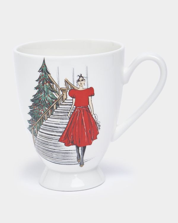 Paul Costelloe Living Lady Footed Mug