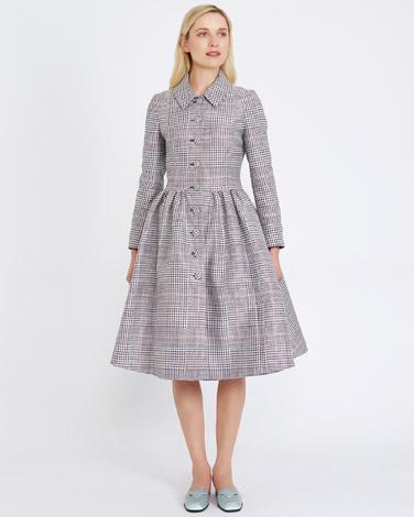 checkPeter O'Brien Check Dress Coat