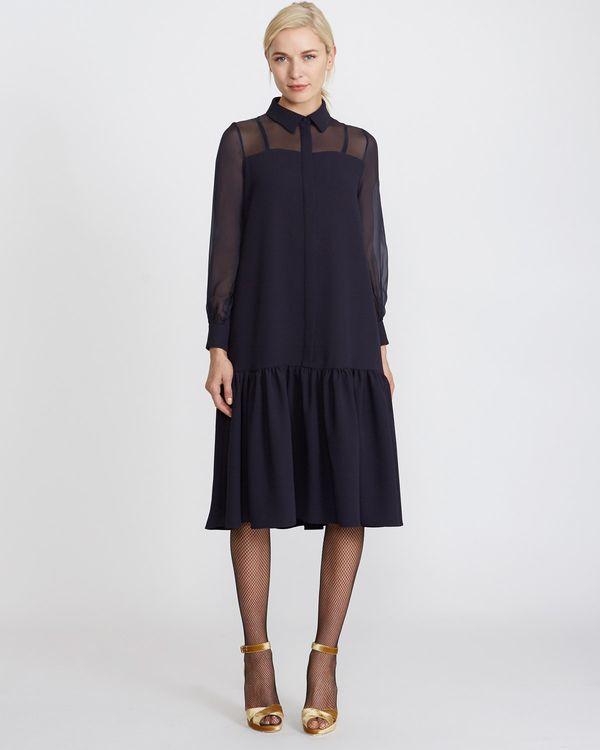 Peter O'Brien Silk Shirt Dress