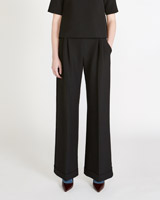 black Peter O'Brien High Waisted Oxford Bag Trousers