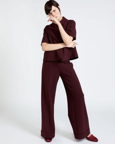 Peter O'Brien Wide Leg Trousers