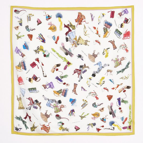 Peter O'Brien Accessory Silk Scarf