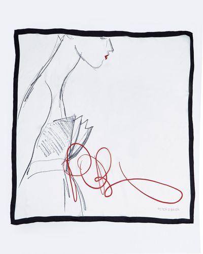 Peter O'Brien Signature Silk Scarf