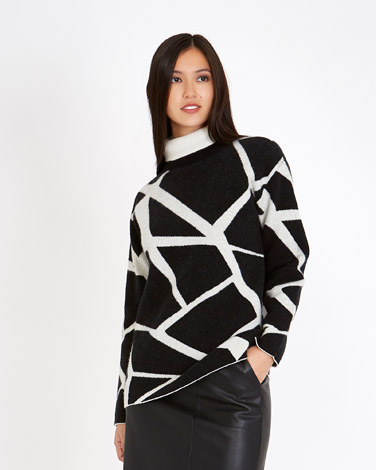 blackMichael Mortell Zig Zag Sweater (Limited Edition)